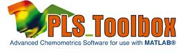 PLS Toolbox, logiciel de chimiometrie