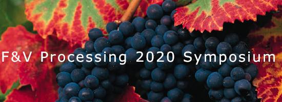 F&V Processing 2020 symposium